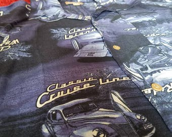 GEORGE Size M Hawaiian T-Shirt classic island rides with tags.