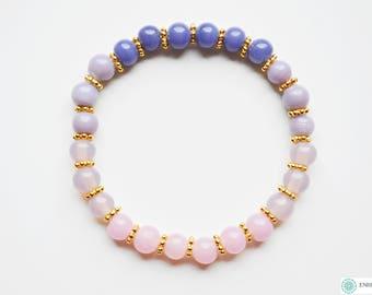 Ombre pink bracelet