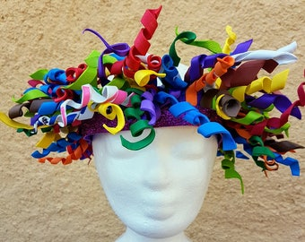 Crazy hour hat, parties, farewells, end of year, birthdays, weddings, costumes