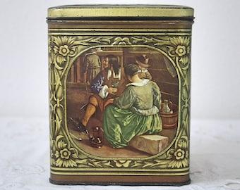Vintage Demaret Confiserie tin