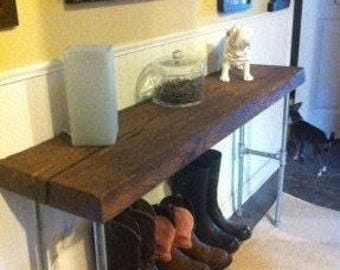Industrial Entry/Sofa table