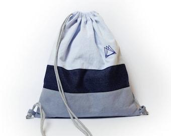 Otodus drawstring backpack