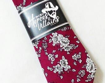 Wine red skinny ties,dapper ties,neck ties,bow ties,skinny ties,groomsmen tie,wedding ties,wedding bow tie, suspenders,wool tie,floral ties