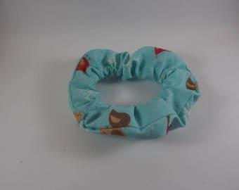 Robin Christmas Festive Scrunchie