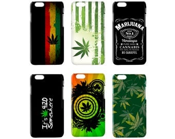 Cannabis case  for  Huawei P7 P8 P9 P10 P8 P9 P10 LITE P10 + Nova + G8 HONOR 5X 7 8 9 MATE S 9 Hard cover