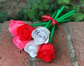 Valentine's Day 3D Printed Roses