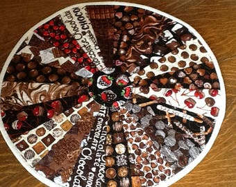 Chocolate Table Topper