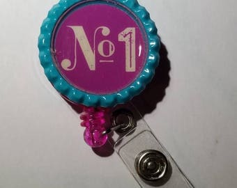 No. 1 badge holder