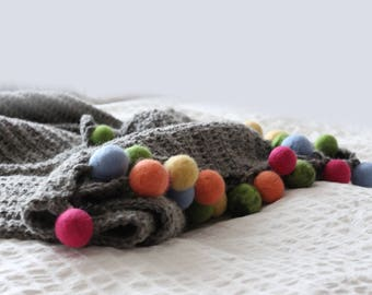 Hand-chrocheted Wool COZY WARMER By VidaFelt - Free Shipping!