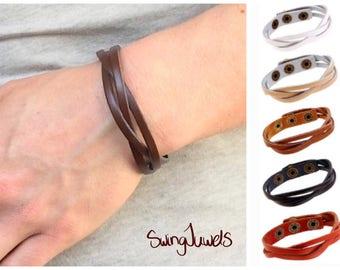 Boho bracelet DQ leather