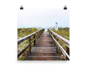 Poster-Boardwalk To The Beach