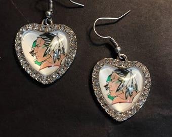 Fighting Sioux Earrings