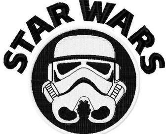 Darth Vader embroidery design 5