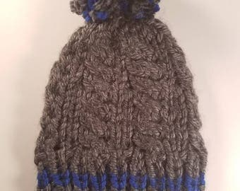 Cable Knit Hat Toddler