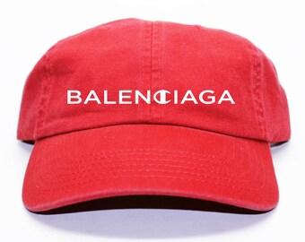 Balenciaga x Champion Inspired Black Dad Hat
