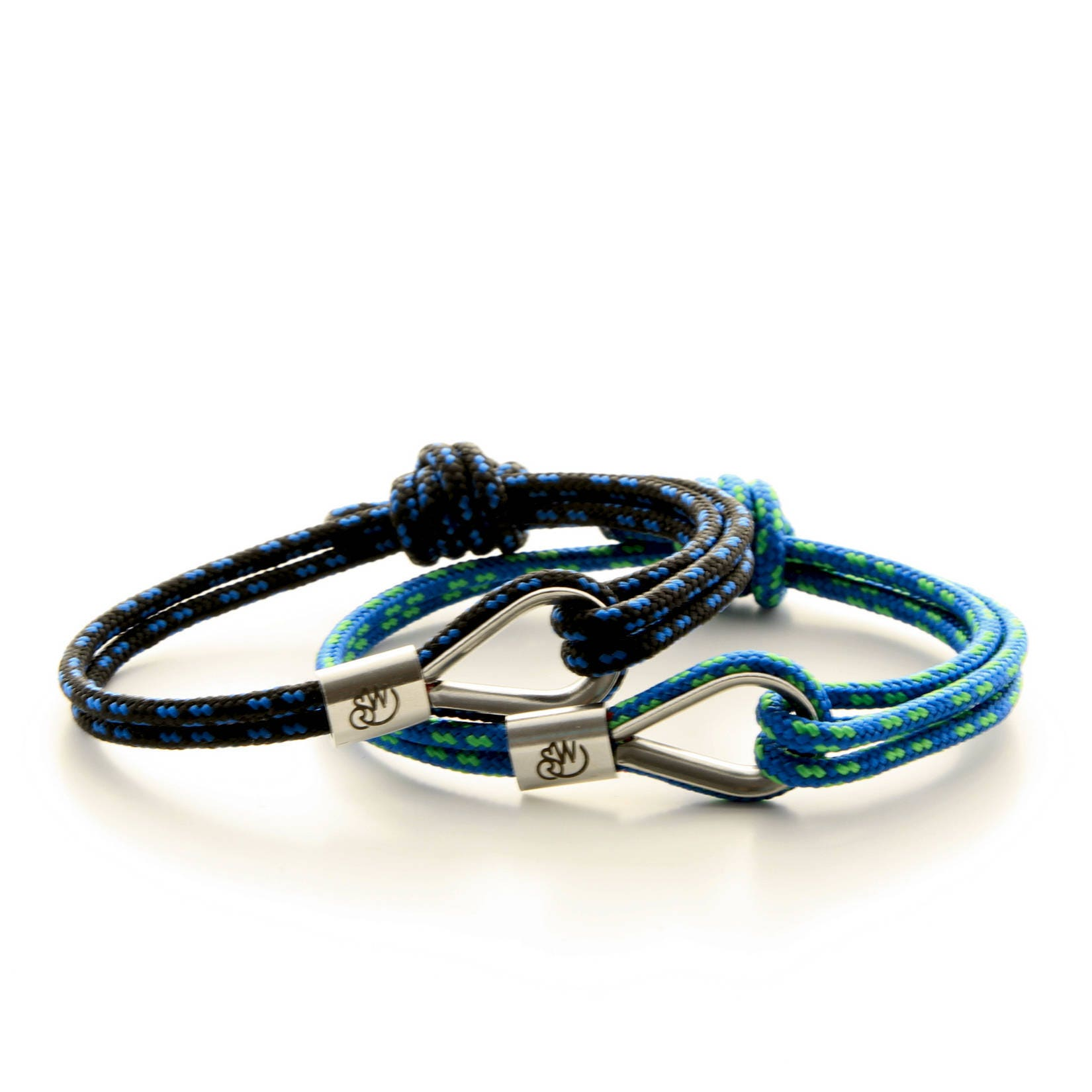 wristband women leather mens wrap nautical sailor shackles anchor amazon cord screw jewelry com rope steel dp bracelet