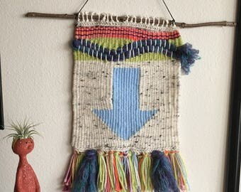 Avatar Arrow Weaving | Woven Wall Hanging