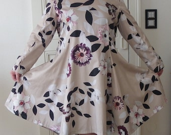 Flared dress XL