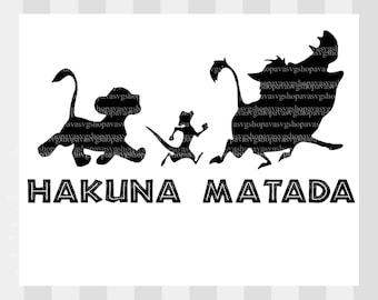 Lion king Hakuna Matata SVG, Lion king svg, disneys lion king svg, simba svg