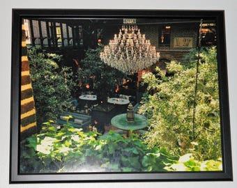 Garden Chandelier Framed Print 16x20