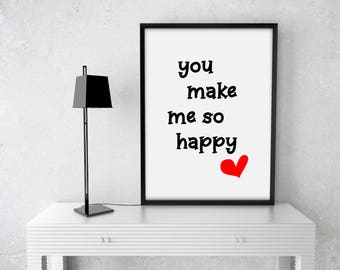 Lovers, Love Print, Love Wall Art, Love Art, Gift for Him, Gift for Her, Gift for Lovers, Love