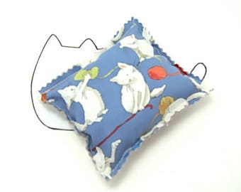 Pillow Catnip Toy-Cats-Modern Cat-Cat Decor-Cat Toy-Pets Toys-Gift Idea-4 Available for Purchase