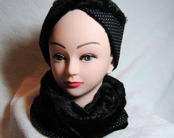 Headband or earmuffs for women