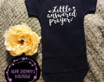 Little Answered Prayer Onesie/Bodysuit