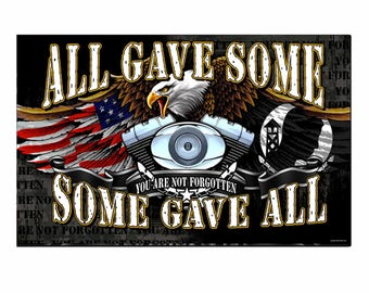 All Gave Some. Some Gave All Decal Sticker