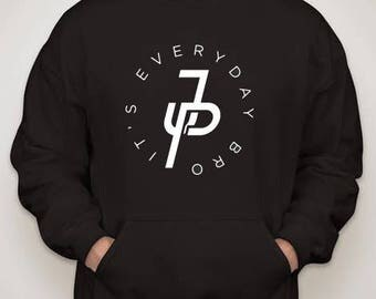 "Jake Paul ""It's Everyday Bro"" Adult/Hoodie Sizes S-2XL"