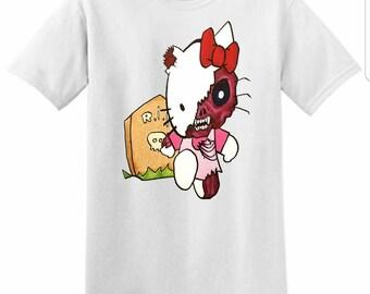 Goodbye Kitty (Small) Unisex T-Shirt
