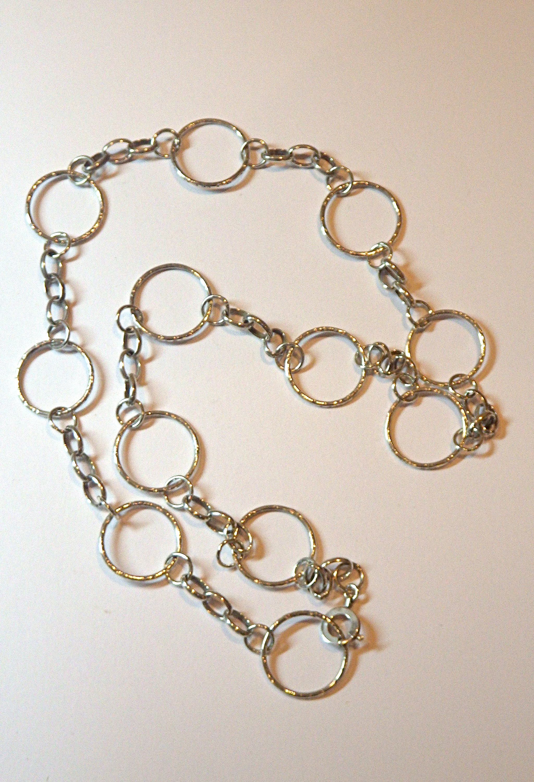 large curve necklace chain cora jewellery