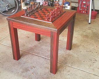 High End Handcrafted Chess Table