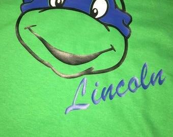 Personalized Ninja Turtle Shirt