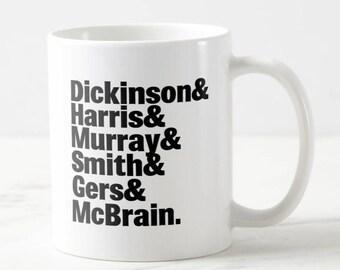 Band Lineup Mug - Iron Maiden - Maiden Mug - Music Mug - Heavy Metal Mug - Gift for Her - Gift for Him - Birthday Gift