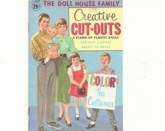 Vintage Fifties Plastic Paper Dolls