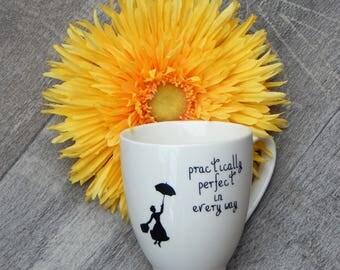 Practically Perfect - Mary Poppins Mug