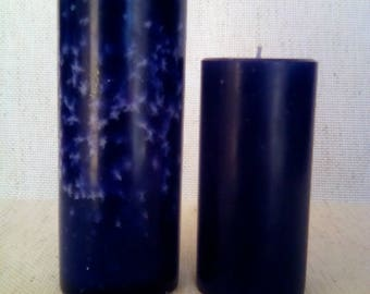 """3"""" or 6"""" Scented Pillar Candle"""