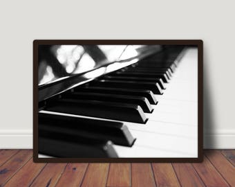 piano teacher gift, piano photography, gift for pianist, piano wall art, piano prints, piano players gift, piano frame,  INSTANT DOWNLOAD