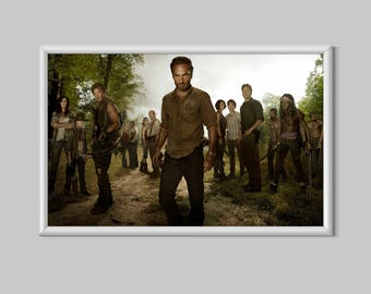 The Walking Dead Horror Print Gift Poster