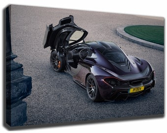 MCLAREN P1 Canvas/Poster Wall Art Pin Up HD Gallery Wrap Room Decor Home  Decor