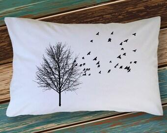 Flock of Birds Pillowcase