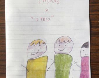 The trio (episode 9)