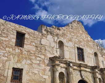 8x10 Print of the Alamo