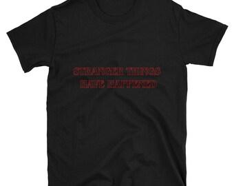 Stranger Things T shirt, retro t shirt, geek t shirt, nerd t shirt, netflix t shirt