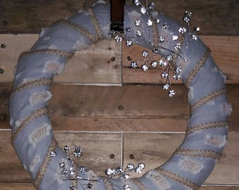 Jean Wreath with Crystal Ascents