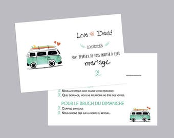 RSVP - Van - (custom wedding)