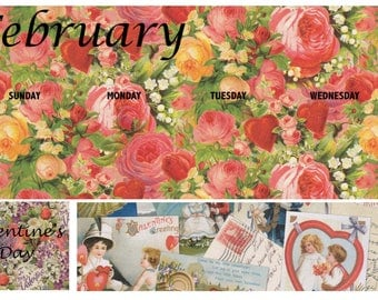 February Monthly Kit