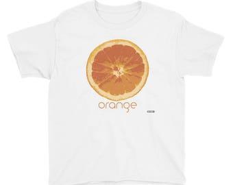 Orange T-Shirt - Kids - Foodie - Chef - Organic