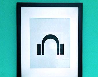 Headphones - Wall Art Print